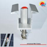 35~50mm 태양 전지판 (ZX025)를 위한 중앙 죔쇠를 거치하는 조정가능한 태양 PV