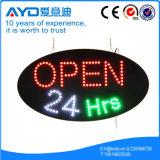Hidly Oval das geöffnete Zeichen Amerika-LED