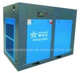 compresor de aire integral síncrono del tornillo del imán permanente de la refrigeración por aire 7.5kw/10HP