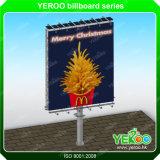 De kader-Reclame van het Aanplakbord van de Banner van de zonneMacht Flex aanplakbord-OpenluchtVertoning