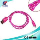 Nylon Braided для кабеля данным по USB iPhone Braided