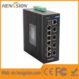 Comutador de rede Ethernet de 8 Port Poe e 2 Gigabit Ethernet Poe