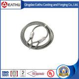 Слинги веревочки провода нержавеющей стали