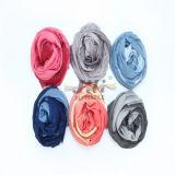 Bufanda de la viscosa S Hijab de los gradientes el 100% de la manera de la bufanda 2016 del tinte de la INMERSIÓN y bufanda de la seda