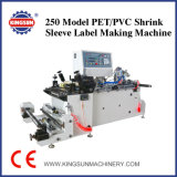 ярлык втулки Shrink PVC kHz250 делая машину