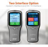 Compteur portable de qualité de l'air Formaldehyde Hcho Pm2.5 / Pm10 Detector