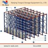 Movimentação high-density no tormento para o armazenamento do armazém