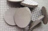 オランダ語によって編まれる焼結させたステンレス鋼の金網フィルター