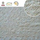 女性の服およびホーム織物E30011のための正方形パターン方法レースファブリック
