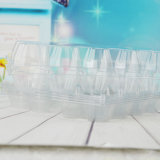 Scatola delle uova del contenitore di imballaggio dell'alimento del PVC (cassetto di plastica)