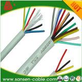 Bon câble souple à plusieurs noyaux de câblage de matériel d'isolation de PVC de la qualité H03VV-F