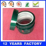 cinta verde de enmascarado da alta temperatura del animal doméstico de 0.06m m