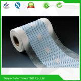 Pellicola impermeabile di plastica respirabile protettiva del PE per il pannolino