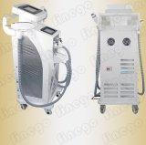Luz de E + IPL RF + laser 3 em 1 equipamento da beleza do salão de beleza do sistema