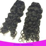 Человеческие волосы цвета естественной волны Remy малайзийской Джексон девственницы естественные