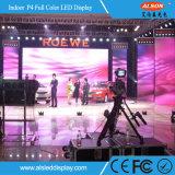 Écran de location polychrome d'intérieur d'Afficheur LED de HD P4 pour l'étape