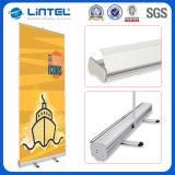Ökonomische Aluminium rollen oben Fahne, einziehbaren Fahnen-Standplatz, rollen oben Fahnen-Größe