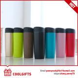 2016 double tasse magique neuve colorée d'aspiration d'acier inoxydable de mur du modèle 500ml