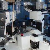 Estaca automática do fio que frisa e máquina de descascamento