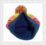 Los colores multi de la nueva manera calientan el sombrero hecho punto de la gorrita tejida para las muchachas (1-3374)