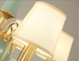 Lampe pendante en laiton initiale simple et de préfet