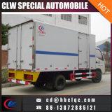 Carro de enfriamiento del transporte de la carne del congelador del carro de Forland 4mt
