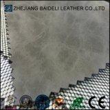 Couro artificial do plutônio do PVC do projeto da forma para sapatas/sacos