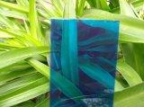 Vertente contínua da criação de animais da folha do policarbonato azul e estufa agricultural