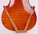 Estofamento de couro dos instrumentos musicais do descanso do ombro do violino
