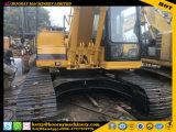 Máquina escavadora usada da lagarta 320b, máquina escavadora usada 320b da esteira rolante, máquina escavadora usada do gato 320b