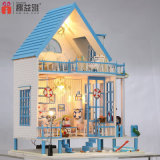 New Kid Miniature Wooden Toy DIY Doll House