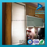 Perfil de aluminio de aluminio modificado para requisitos particulares para la cabina de cocina del obturador del rodillo