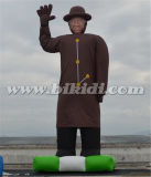 33 piedi noi Presidente Inflatable Character Model Balloon su terra K2106
