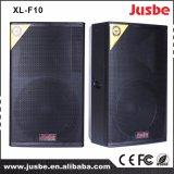XL-F10 altavoz profesional de la etapa de sonidos del sistema audio 200W 10inch DJ