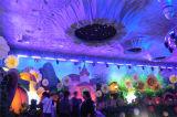 Lampe de rondelle murale à LED 252PCS RGB pour éclairage de scène