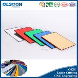 Guangzhou Fabbricazione di taglio del laser per incidere di CNC Servizio Olsoon acrilico specchio Foglio