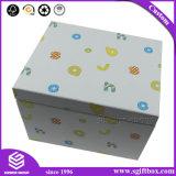 Het betrouwbare Verpakkende Document van het Karton van de Leverancier Naar maat gemaakte met de tik-Bovenkant van het Lint het Vakje van de Gift