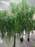 Plantas Potted do salgueiro artificial