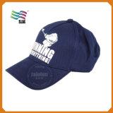 Logo brodé par coutume promotionnelle de bonne qualité de casquette de baseball de coton