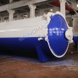 autoclave industrial horizontal de 2500X6000m m Vulcanizating con la calefacción de vapor