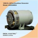 singel-Fase 200Hz 120kVA-24pole Brushless Generators (Alternators)