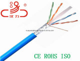 UTP CAT6 Durchlauf-Plattfisch-Netz-Kabel Lancable des LAN-Kabel-23AWG/Kommunikations-Kabel