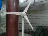 Generador de viento de alta eficiencia de 200W 12V / 24V para el paisaje para la venta