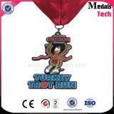 3D Cupid Shape Heart Couples Marathon Finisher Medals with Ribbon