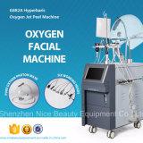 Sistema da casca do jato do oxigênio para o cuidado facial