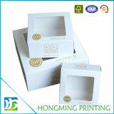 Rectángulo de empaquetado de diversa de las tallas de color de la impresión torta de la cartulina