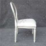 Parte traseira Yc-D156-2 redonda desobstruída extravagante que Wedding cadeiras de couro clássicas modernas