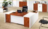 Peinture blanche MDF School Executive Table Meubles de bureau de mode (HX-AD809)