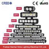 Sola barra ligera del CREE LED 4X4 de la fila 12V 40W 8inch (GT3301-40W)