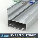Profil en aluminium de vente chaude du marché du Ghana pour le tissu pour rideaux de guichet